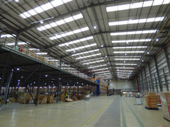4PX Dunstable Distribution Centre LED lighting project in Luton, UK