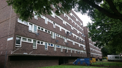 Hackney Council Social Housing LED lighting project in London, UK
