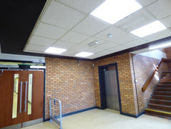 Stanmore College LED lighting project in Harrow, London, UK