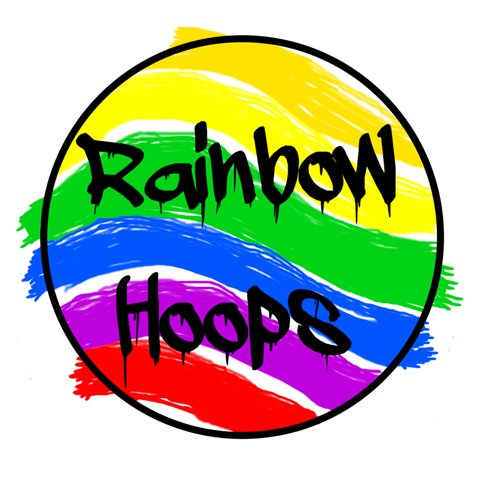 Rainbow-Hoops Logo Sweet Circus