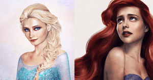 See What Iconic Disney Princesses Would Look Like in Real Life