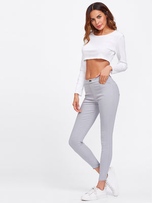 Skinny casual jeggings.