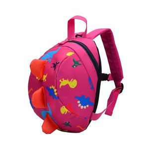 Kids Backpack for School with dinosaur print