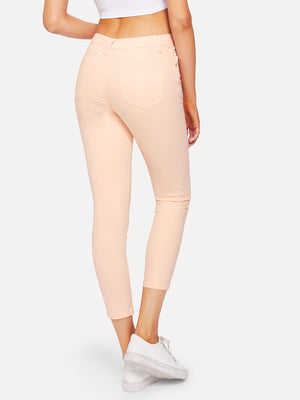 Coral Skinny casual jeggings.