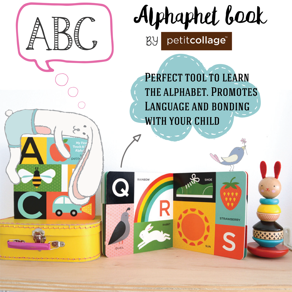 ABC My First Touch & Feel Alphabet Book