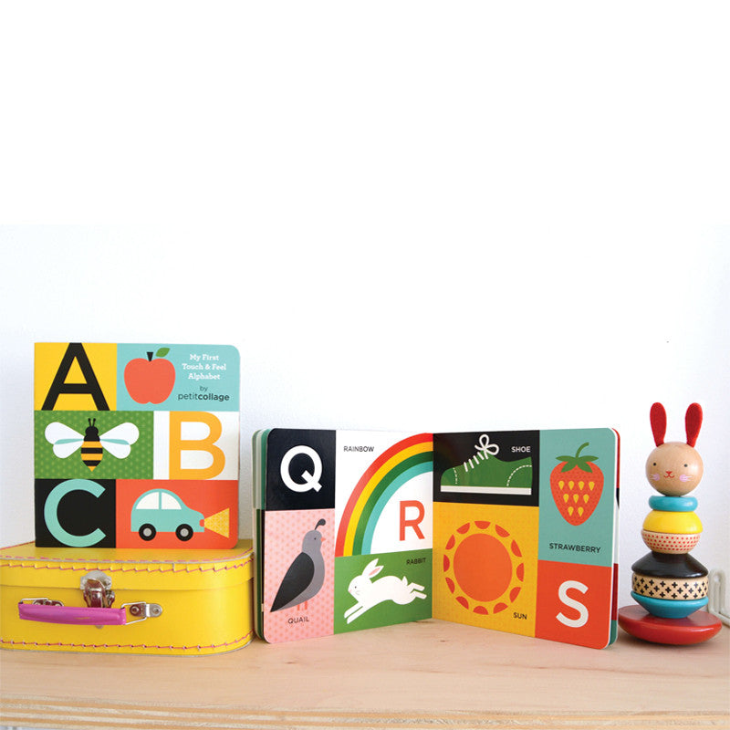 ABC My Fist Touch & Feel Alphabet Board Book by Petit Collage