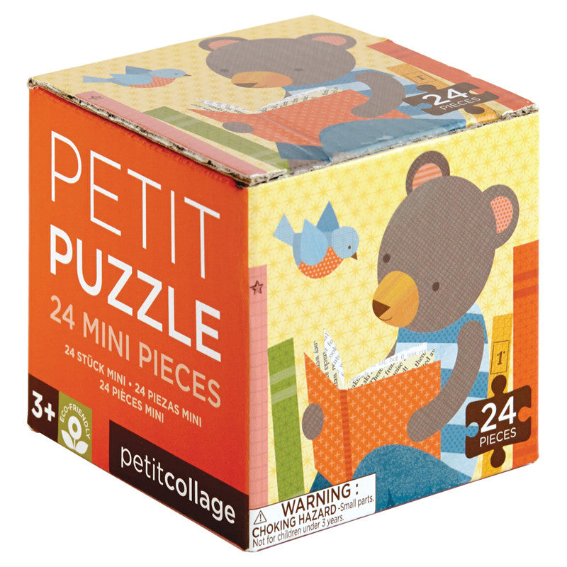 Reading Bear Petit Puzzle by Petit Collage