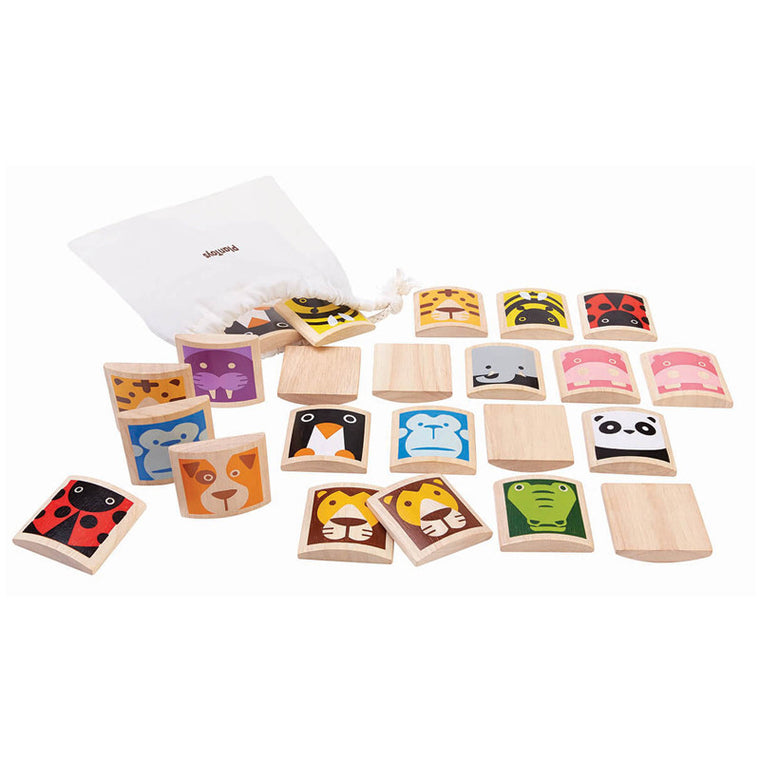 Animal Memo by Plan Toys