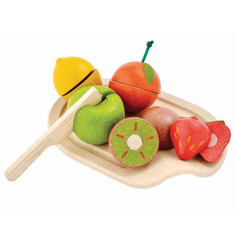 Assorted Fruit Set by Plan Toys