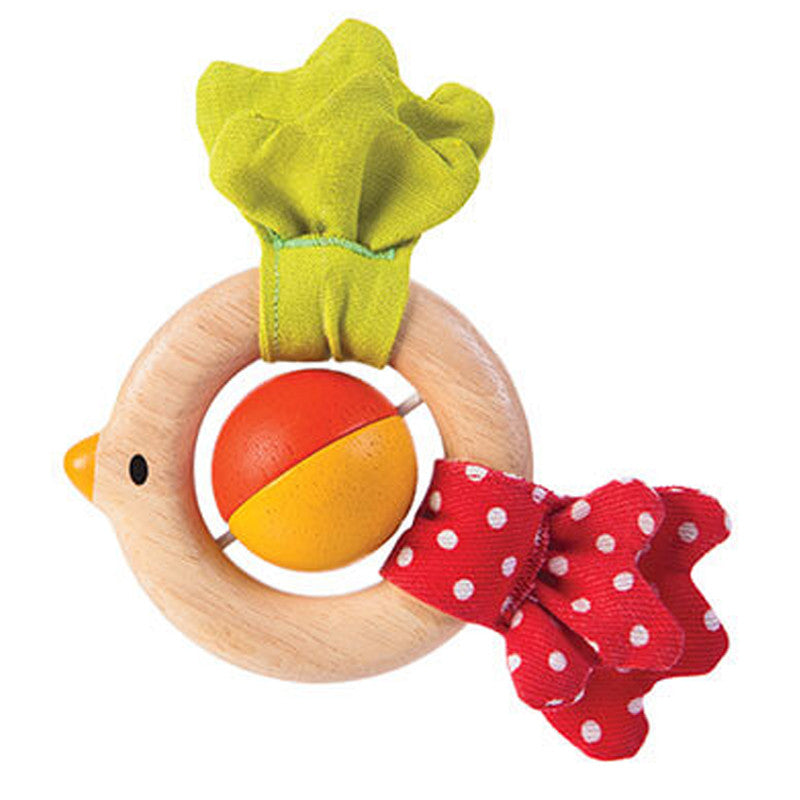 Bird Rattle by Plan Toys