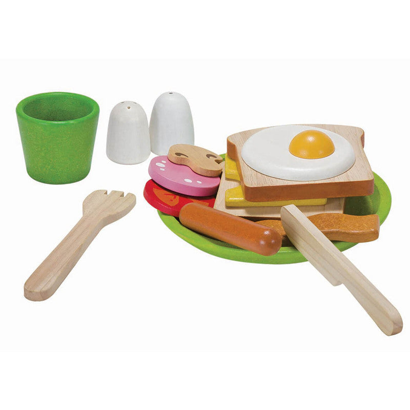 Breakfast Menu Set by Plan Toys