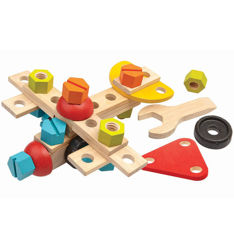 Construction Set by Plan Toys