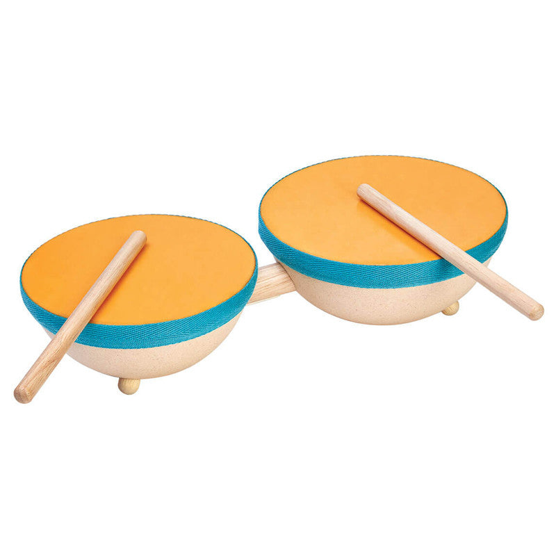 Double Drum by Plan Toys