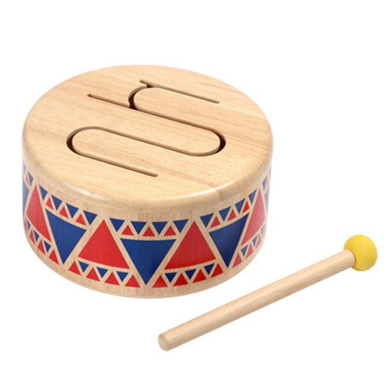 Solid Drum by Plan toys