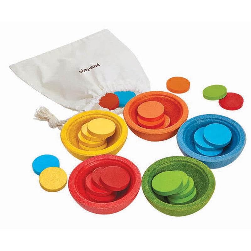 Sort & Count Cups by Plan Toys