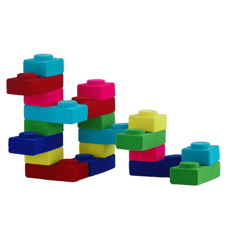 Rubbablox Basix Flat Blocks by Rubbabu