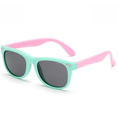 Super cool pink polarized child safe sun glasses, UV400.
