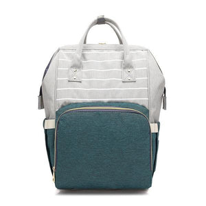 Green Pocket Stylish Diaper Backpack
