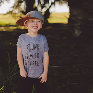 Young, Wild & Three Tee