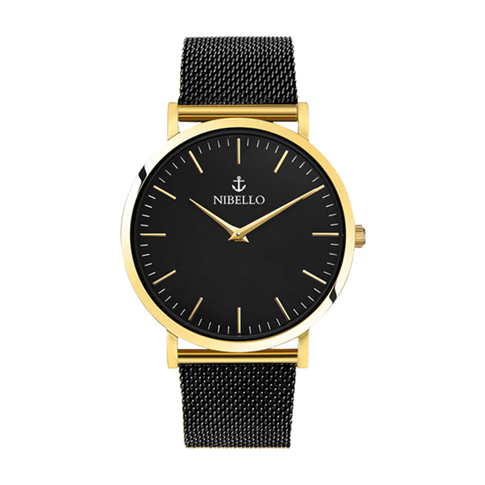 GOLD & BLACK EDITION - Nibello Watches