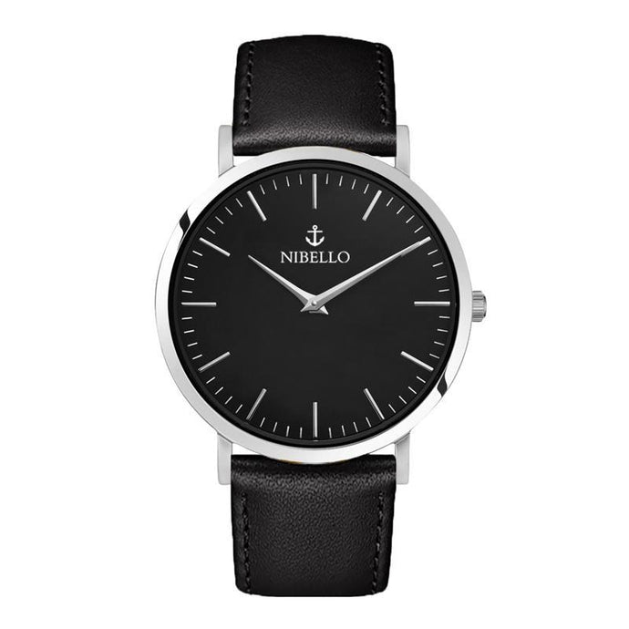 SILVER & BLACK EDITION - Nibello Watches