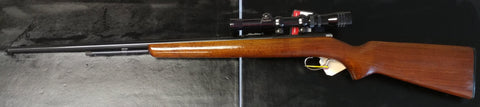 Winchester Model 72A Bolt Action .22 SL or LR With Redfield Scope