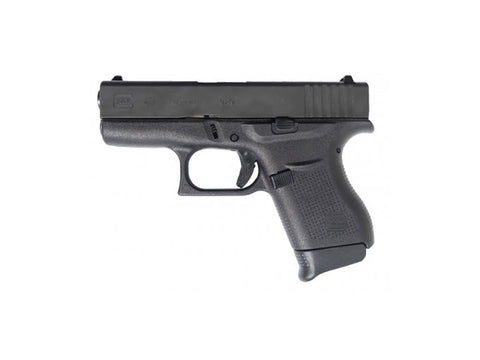 Glock 43 9mm Semi-Auto Pistol Black, Free Shipping