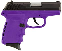SCCY Industries CPX-2 9mm Purple/Black 10+1 Double Action Free Shipping - Action Arms by Mark, LLC