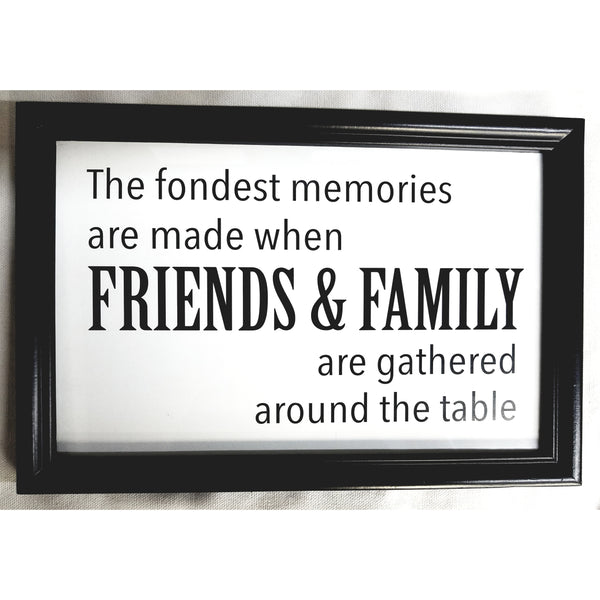 Fondest Memories Sign, Home Decor - Thomas Ann Decor
