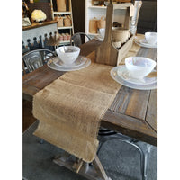 Burlap Runner, Home Decor - Thomas Ann Decor