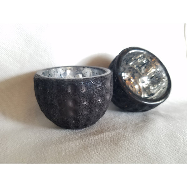 Matte Black Tea Light Holder, Home Decor - Thomas Ann Decor