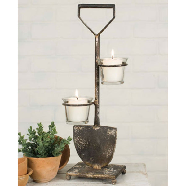 Shovel Votive Stand, Home Decor - Thomas Ann Decor