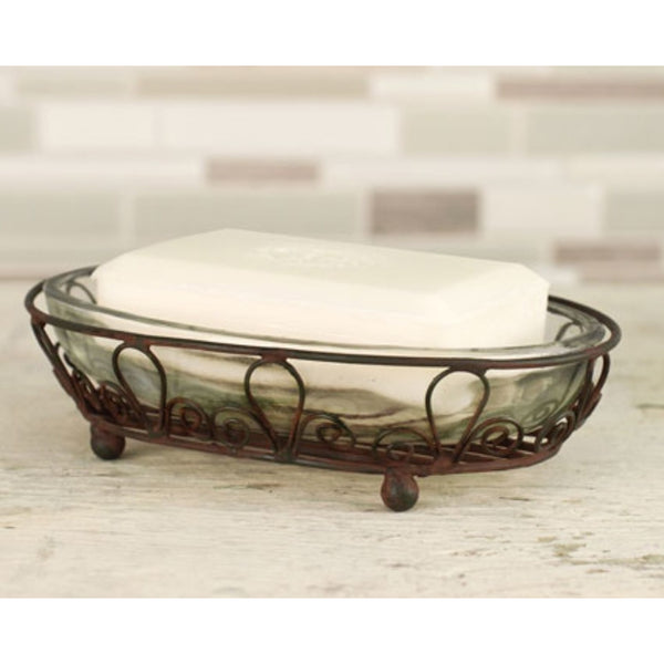 Oval Soap Dish, Home Decor - Thomas Ann Decor