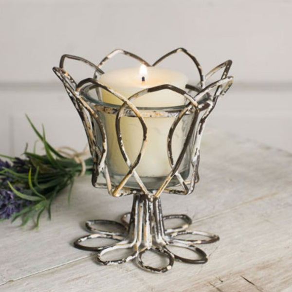 Tulip Votive Holder, Home Decor - Thomas Ann Decor