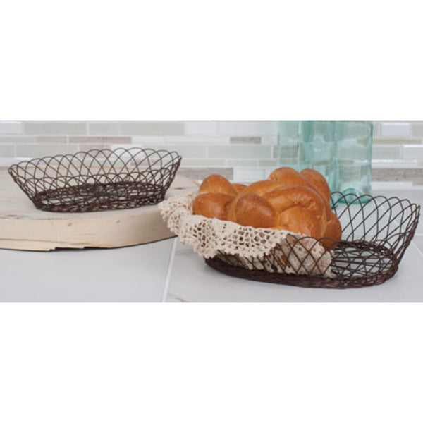 Wire Kitchen Basket Set of 2,  - Thomas Ann Decor