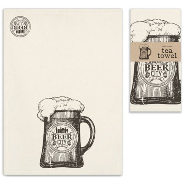 Beer City Tea Towel,  - Thomas Ann Decor