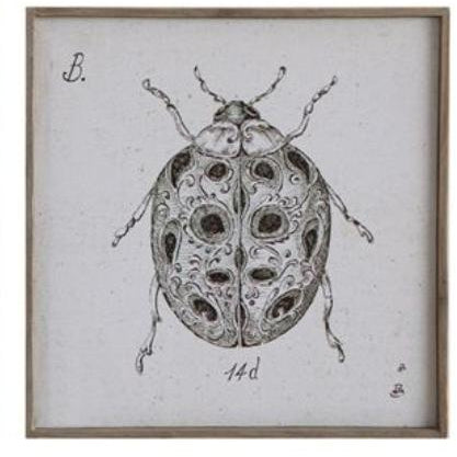 Insect Wall Decor Lady Bug,  - Thomas Ann Decor