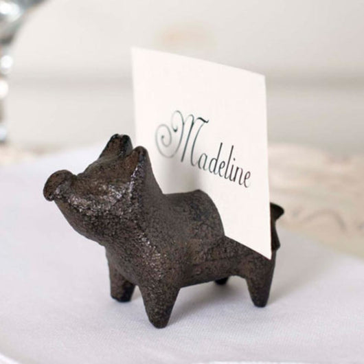 Value Buy Pig Card/Picture Holder,  - Thomas Ann Decor