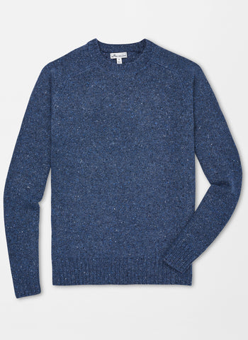 Peter Millar Saddle Shoulder Crew Neck Sweater