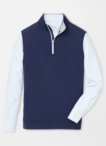 Peter Millar Galway Performance Quarter Zip Vest