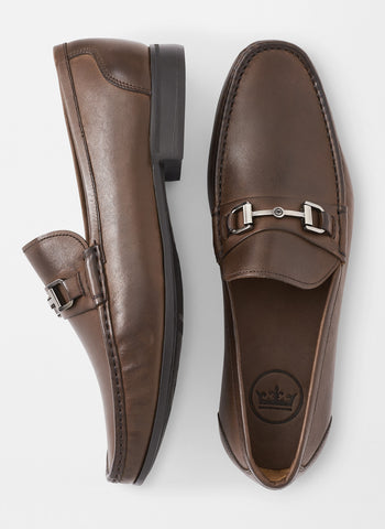 Hyperlight Leather Bit Loafer — Peter Millar