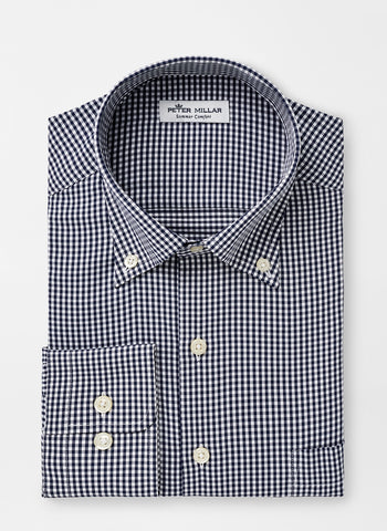 Mimi Check Performance Sport Shirt — Peter Millar