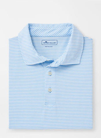 Kribi Beach Aqua Cotton Polo – Peter Millar