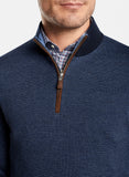 Needle-Stripe Wool Quarter-Zip – Peter Millar