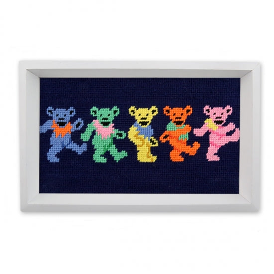 Dancing Bears Needlepoint Valet Tray – Smathers & Branson