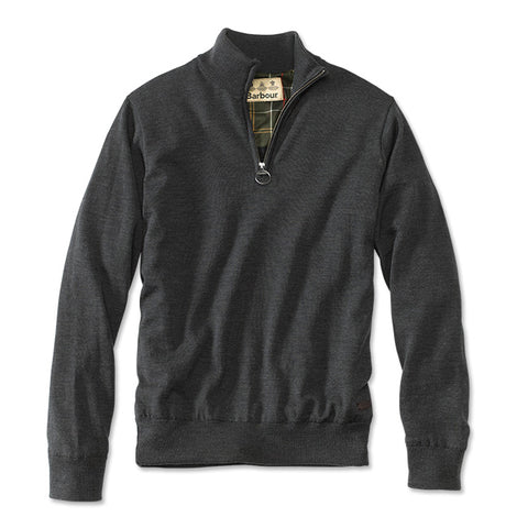 Barbour Gamlin Half-Zip with Waterproof Lining