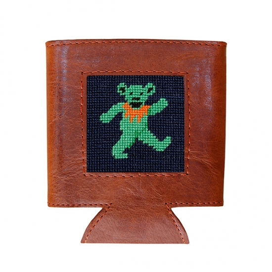 Dancing Bear Needlepoint Can Cooler – Smathers & Branson