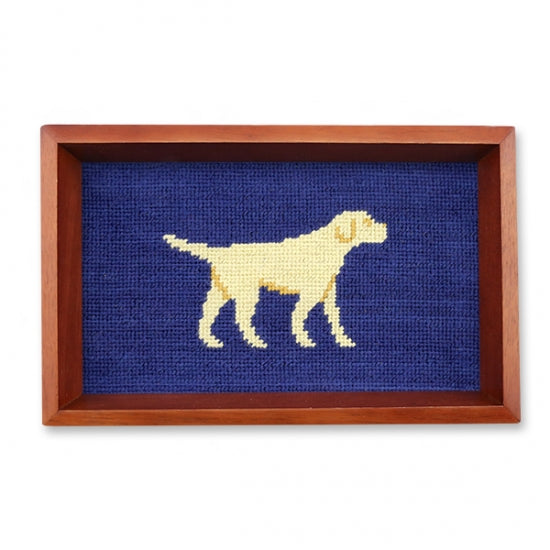 Yellow Lab Needlepoint Valet Tray – Smathers & Branson