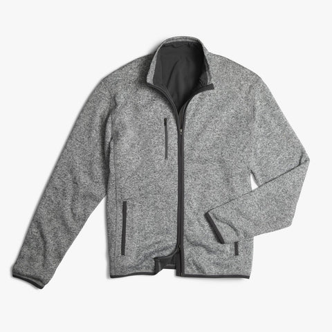 Johnnie-O Bates 2-Way Zip Sweater
