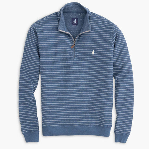 Johnnie-O Emmett Striped 1/4 Zip Pullover
